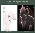 Blizzard~  Before And After Meme by Evertooth