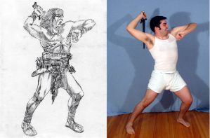 Kickstarter Character Design Forge the Barbarian by SpiritedFool