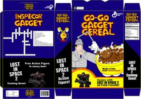 Go Go Gadget Cereal by TheWax