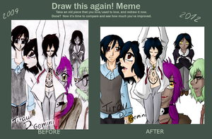 Draw this again meme by Animefanka