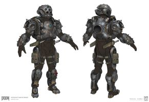 DOOM - MP Bounty Hunter Set 2 by emersontung