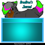 Journal Skin commission for *B-1-A-D-E by Speckelpelt