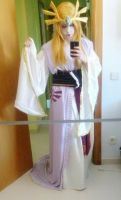 Cosplay - Princess Zelda (Feudal Japan style) by MissLittleOtaku