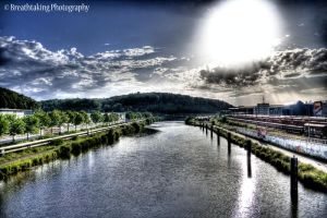 Sun shines bright HDR by xMAXIx