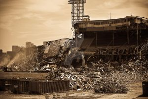Old Tiger Stadium by Gundamwing2222