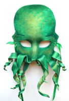 Green Octopus Cthulhu Krakken by OakMyth