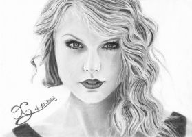 Taylor Swift by CarinaGM