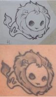 Leo Tattoo by BrokenTeddyBear