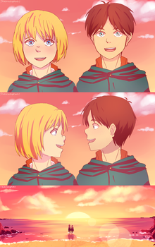 Eremin week - day 2 - summer episode by KatInATopHat