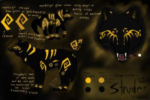 Stryder Reference Sheet by Randomznez