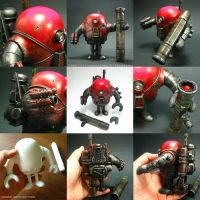 TRE03 Custom Sketchbot by toysrevil