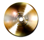 Steampunk CD/DVD Icon by yereverluvinuncleber