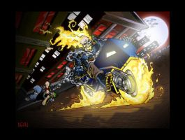 Ghost Rider by beaubaphat