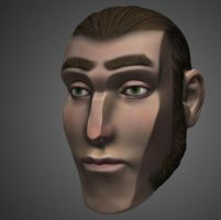 Stylized head speed sculpt by Magmabolt