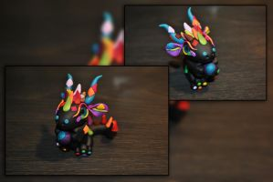 Patches the Baby Dragon by KirstenBerryCrafts