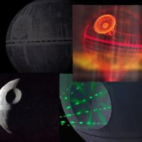Death Star Collage by LadyIlona1984