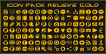 IconPack Relieve Gold by Agelyk
