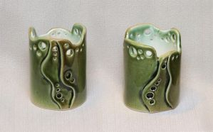 Candlestick 'Green tea' by vavaleff