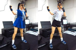 Ibuki 1:4 scale alt costume WIP by chiseltown