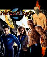 The Fantastic Four by Thwan-Condu