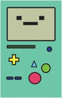 Adventure Time: BMO Poster by FantasySystem