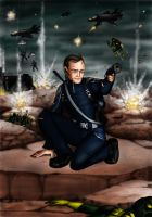 Coulson on the Battlefield by moloko-plus