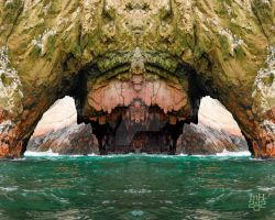 Grotto Arch by Preternatch