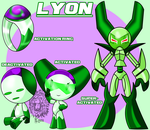 Robotboy persona- Lyon by TheBig-ChillQueen