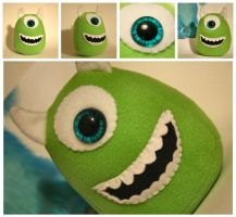 Green Monster Plushie by Saint-Angel