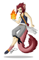 Commission: Natsu by Chiibe