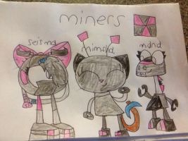 Miners by thedrksiren