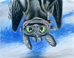 Toothless: Oh Hey There! by EveSinclair