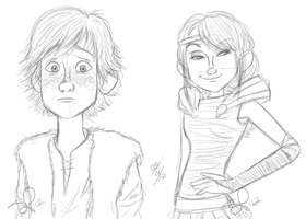 httyd sketches 050112 by VinDeamer