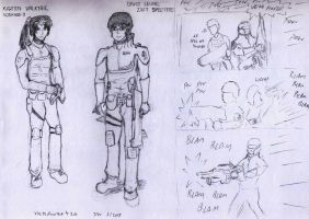 Random Sketches- GSR Edition by VoltsPower2K
