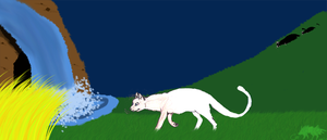 the white cat by chaopets
