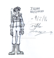 Jillian Holtzmann -Sketch- by PL125