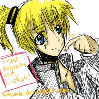 i have kagamine issues by huhsmile