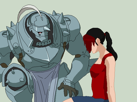 Alphonse and Sam by peppermix14