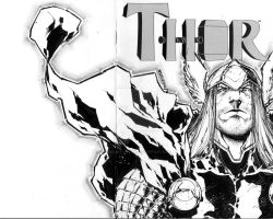 Thor sketchcover! by adelsocorona