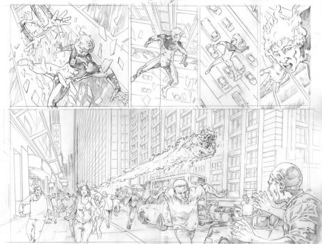 4F ultimates pages 1-2 by wici