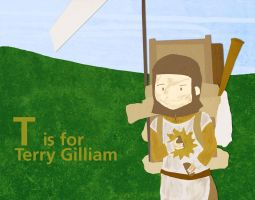 T is for Terry Gilliam by whosname