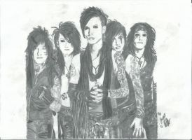 Black veil Brides 7 by xxdaswarwohlnix