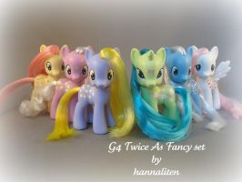 Entire set G4 TAF ponies by hannaliten