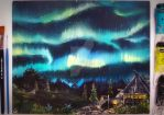 Northern Lights of Skyrim by Aronja