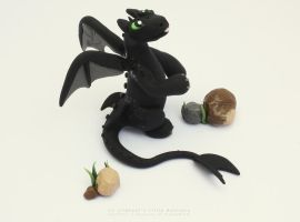 Toothless by LitefootsLilBestiary