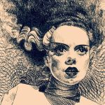 The Bride of Frankenstein by SubversiveGirlArt