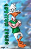 Drake Mallard In Living Color by megs83