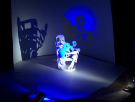 cup sculpture: puppeteer by tang-mu