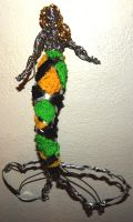 3D pen green yellow and black by metalpug