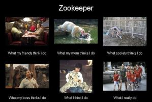 Zookeeper - What i really do meme by leftysmudgez